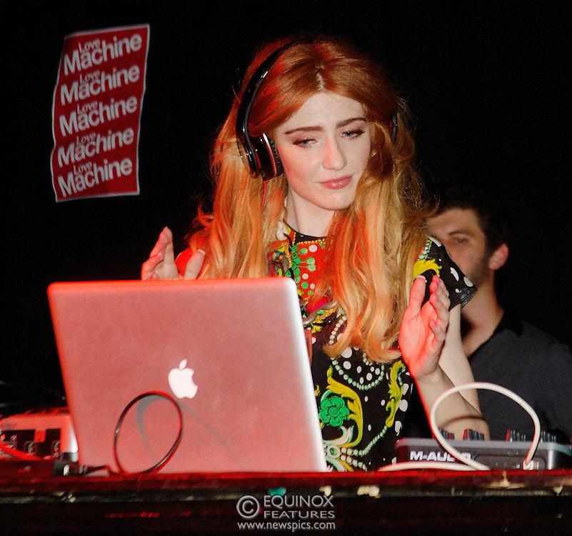 London, United Kingdom - 5 June 2011.Girls Aloud band member Nicola Roberts DJ'ing to launch her new single Beat Of My Drum at the Hoxton Square Bar and Kitchen, Shoreditch, London, England, UK. .Copyright: ©2011 Equinox Licensing Ltd. +448700 780000.Contact: Equinox Features.Date Taken: 20110605.Time Taken: 003618+0000.www.newspics.com