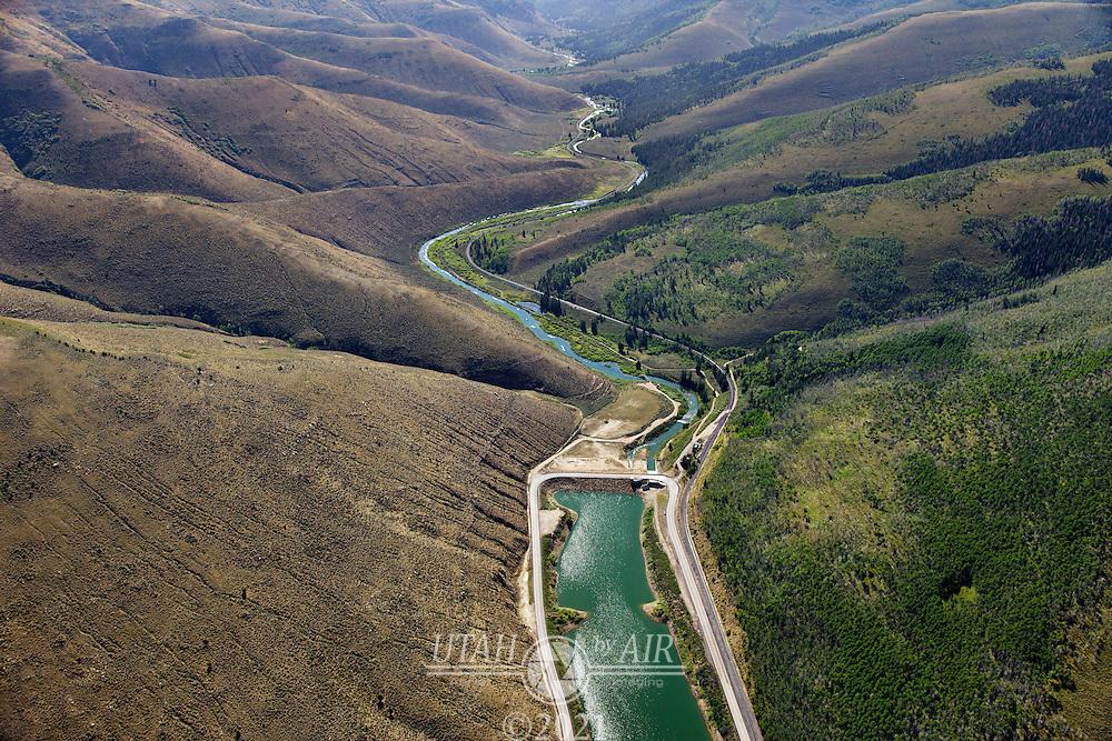 Scofield Reservoir Dam