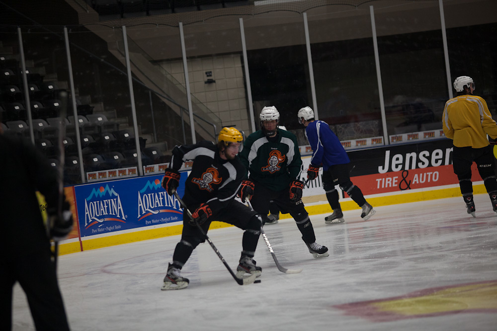 06 December 2012- The Omaha Lancers are photographed at Ralston Arena for Omaha Magazine.
