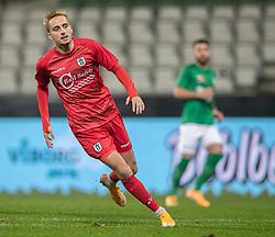 Lucas Haren (FC Helsingør) under kampen i 1. Division mellem Viborg FF og FC Helsingør den 30. oktober 2020 på Energi Viborg Arena (Foto: Claus Birch).