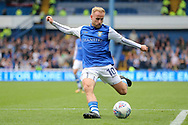 Sheffield Wednesday midfielder Barry Bannan (10) shoots at goal during the EFL Sky Bet Championship match between Sheffield Wednesday and Sheffield Utd at Hillsborough, Sheffield, England on 24 September 2017. Photo by Phil Duncan.