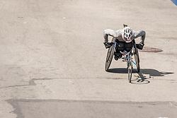 Christie Dawes, Boston Marathon wheelchair finish