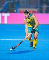 BHUBANESWAR, INDIA - Jeremy Hayward (Aus)  , England v Australia for the bronze medal during the Odisha World Cup Hockey for men  in the Kalinga Stadion.   COPYRIGHT KOEN SUYK
