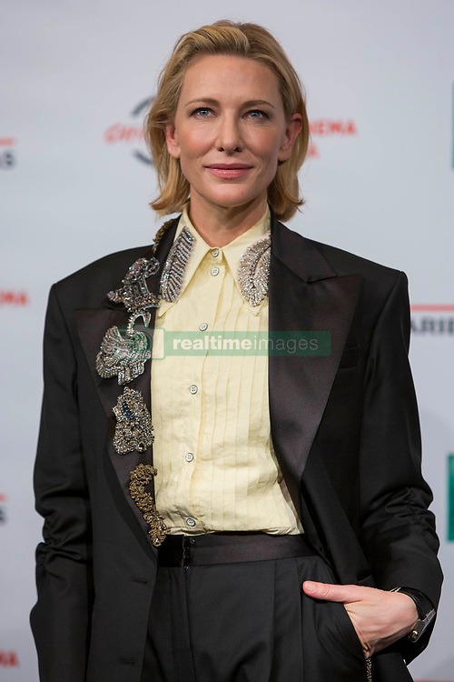 """Photocall for """"The House With a Clock in Its Walls"""" during the 13th Rome Film Fest at Auditorium Parco Della Musica in Rome on October 19, 2018. 19 Oct 2018 Pictured: Cate Blanchett poses for photographer during the photocall for """"The House With a Clock in Its Walls"""" at the 13th Rome Film Fest at Auditorium Parco Della Musica in Rome on October 18, 2018. Photo credit: Stefano Costantino / MEGA TheMegaAgency.com +1 888 505 6342"""