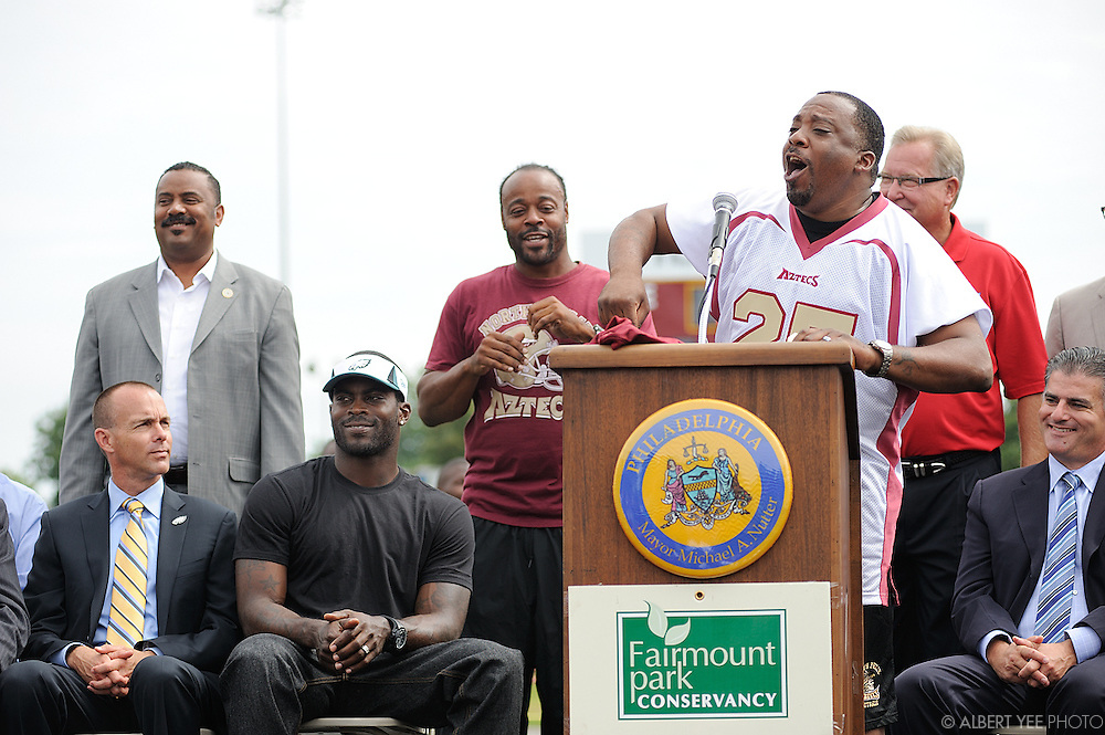 Hunting Park Football Field Ribbon Cutting<br /> <br /> August 19, 2013