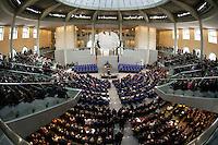 23 MAY 2004, BERLIN/GERMANY:<br /> Uebersicht des Plenarsaales, waehrend der Rede von Horst Koehler, nach seiner Wahl, Sitzung der Bundesversammlung anlässlich der Wahl des Bundespraesidenten, Deutscher Bundestag<br /> IMAGE: 20040523-01-069<br /> KEYWORDS: Bundespräsident, Plenum, Übersicht