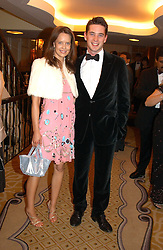 ARABELLA MUSGRAVE and the HON.JAMES TOLLEMACHE at a dinner in aid of the BAAF (British Association for Adoption & Fostering) held at The Savoy, London on 22nd March 2005.<br /><br />NON EXCLUSIVE - WORLD RIGHTS