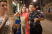 CHARLOTTE LEVY; CHANTELLE HALL;  , Lady  Sandra Bates and Jason Bradbury host 'Lust' a mixed exhibition. La Galleria. Pall Mall.  London 3 September 2013.