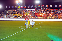 October 6, 2017 - Nabeul, Tunisia - Ceremonie the kickoff of the World Cup mini-football, held from 6 to 15 October in Nabeul (60 km south of Tunis) Tunisia this Friday, October 6, 2017 with the participation of 24 teams from different countries world. (Credit Image: © Chokri Mahjoub via ZUMA Wire)