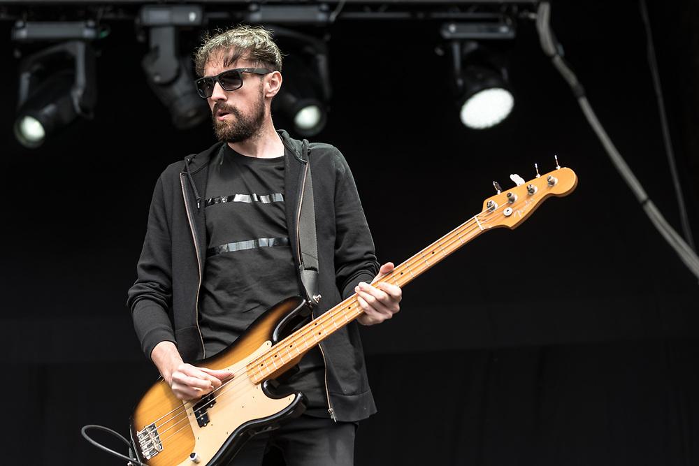 British indie-rock band The Slow Readers Club at Haldern Pop Festival