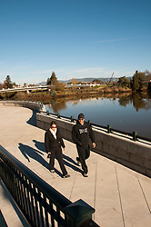 California: Napa City, downtown riverfront.  Photo copyright Lee Foster.  Photo # canapa107313