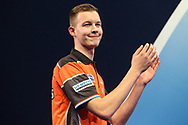 Geert Nentjes during the World Darts Championships 2018 at Alexandra Palace, London, United Kingdom on 19 December 2018.