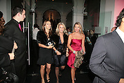 Elizabeth Hurley and Beatrix Warrender, ' Show Off' Theo Fennell exhibition co-hosted wit Vanity Fair. Royal Academy. Burlington Gdns. London. 27 September 2007. -DO NOT ARCHIVE-© Copyright Photograph by Dafydd Jones. 248 Clapham Rd. London SW9 0PZ. Tel 0207 820 0771. www.dafjones.com.