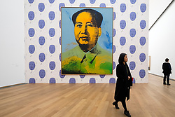 Mao by Andy Warhol at Hamburger Bahnhof modern art museum in Berlin, Germany