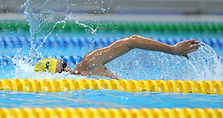 JAKARTA, Aug. 24, 2018  Nguyen Huy Hoang of Vietnam competes during men's 1500m freestyle final of swimming at the 18th Asian Games in Jakarta, Indonesia, Aug. 24, 2018. (Credit Image: © Fei Maohua/Xinhua via ZUMA Wire)