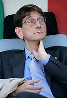 """Il Presidente del Chievo Verona Luca Campedelli<br /> Italian """"Serie A"""" 2006-07 <br /> 18 Apr 2007 (Match Day 22)<br /> Lazio-Chievo (0-0)<br /> """"Olimpico"""" Stadium-Roma-Italy<br /> Photographer Luca Pagliaricci INSIDE"""