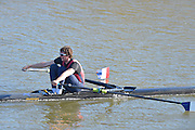 Boston, Great Britain. Men's Single Scull trial. GBR M1X. Mason DURANT.  2013. GBRowing second assessment, Boston Rowing Club, River Witham, Lincolnshire.    Saturday  09/02/2013.   [Mandatory Credit. Peter Spurrier/Intersport Images]