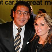 NLD/Amsterdam/20111029- JFK Greatest Man Award 2011, Wong Yip en partner