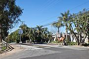 Girl Riding Her Horse In A Yorba Linda Neighborhood