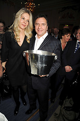 Chef RAYMOND BLANC and NATALIA TRAXEL at the 2009 Tatler Restaurant Awards in association with Champagne Louis Roederer held at the Mandarin Oriental Hyde Park, 66 Knightsbridge, London SW1 on 19th January 2009.