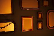 Mirrors at a restaurant. São Paulo, Brazil. ©CiroCoelho.com. #saopaulo #brasil #night #interiors #architecture #city #architecturephotography #theotherarchitecture