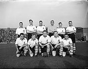 22/4/1953<br /> 4/22/1953<br /> 22 April 1953 <br /> Soccer, football,League of Ireland v Irish League, Dalymount Park, Dublin.