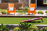 Model Home Backyard Detail