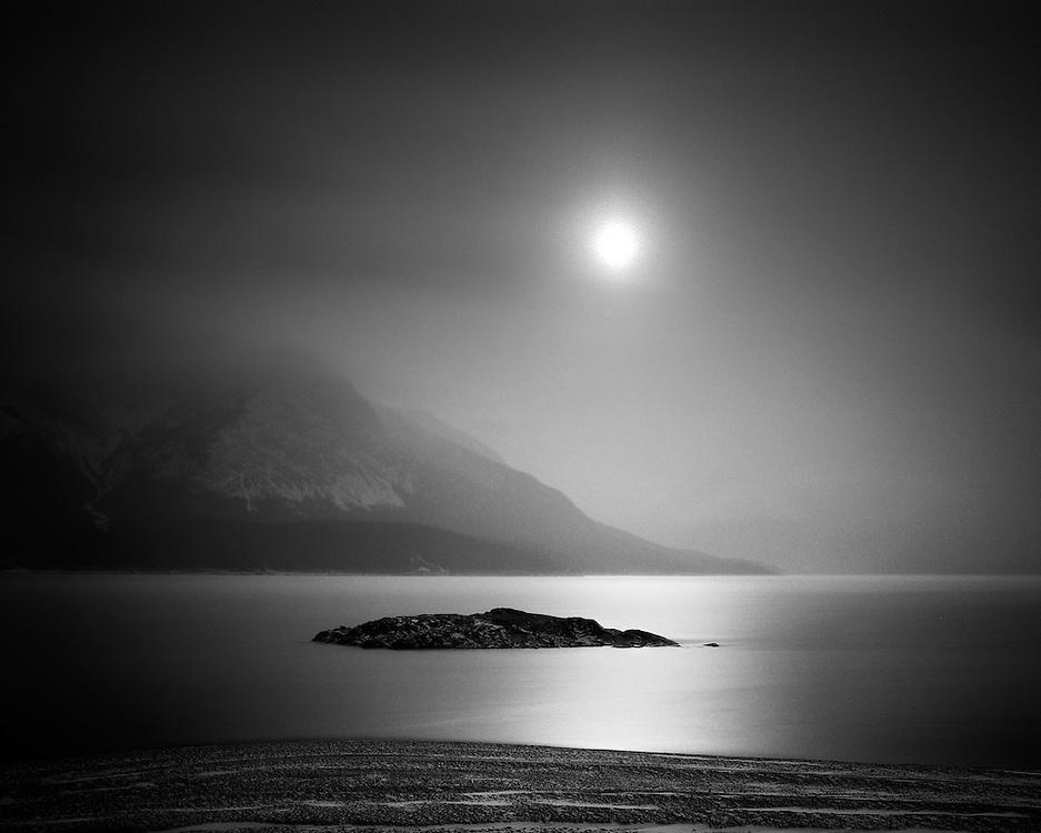 Abraham Lake Reflection, AB