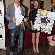 NLD/Volendam/20140626 - 100%NL magazine bestaat 5 jaar, Eigenaren Sier blad