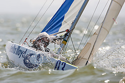 2.4 mr. Medemblik - the Netherlands, May 22nd 2012. Delta Lloyd Regatta in Medemblik (22/26 May 2012). Day 1.