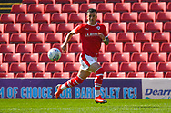 Daniel Pinillos of Barnsley (23) in action during the EFL Sky Bet League 1 match between Barnsley and Shrewsbury Town at Oakwell, Barnsley, England on 19 April 2019.