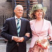 NLD/Den Haag/20180918 - Prinsjesdag 2018,  Minister Cora van Nieuwenhuizen en partner