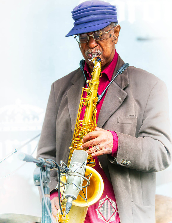 Musicians, Jazz, performing in Chicago. 2019.  Digital photography.