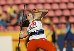 July 10, 2018 - Tampere, Suomi Finland - 180710 Friidrott, Junior-VM, Dag 1: Joanna Hajdrowska POL competes in XXX during the IAAF World U20 Championships day 1 at the Ratina stadion 10. July 2018 in Tampere, Finland. (Newspix24/Kalle Parkkinen) (Credit Image: © Kalle Parkkinen/Bildbyran via ZUMA Press)