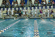 Madison Hartigan competes in the 200 Yard Freestyle finals of the 2016 NYSPHSAA Swimming and Diving Championships held at Ithaca College on Saturday.