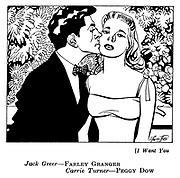 I Want You : Farley Granger and Peggy Dow