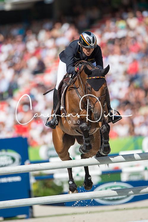 Ingrid Klimke, (GER), FRH Escada JS - Jumping Eventing - Alltech FEI World Equestrian Games™ 2014 - Normandy, France.<br /> © Hippo Foto Team - Jon Stroud<br /> 31-08-14