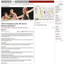 Publication of dance photo from V.I.T.R.I.O.L. in the web page of a newspaper AVUI from 03/12/09. www.avui.cat