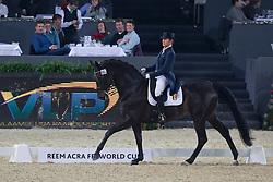 Fassaert Claudia (BEL) - Donnerfee<br /> Grand Prix - CDI-W Mechelen 2011<br /> © Dirk Caremans