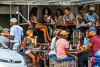Street scene, Maboneng Precinct, Johannesburg, South Africa.