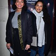 London, England, UK. 23 January 2018. Lois Chimimba (L) Arrivers at Beginning - press night at Ambassadors Theatre.