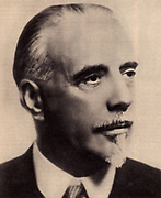 Thomas Beecham (1879-1961) English conductor born in St Helens, Lancashire.  Founder of the London Symphony Orchestra and the Royal Philomonic Orchestra.