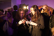 EMMA SPEDDING; EMMA HAMMOND, Maison Triumph launch to celebrate the beginning of London fashion week. Monmouth St. 14 February 2013.