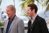 Slava Fetisov and Gabe Polsky at the photocall for the film Red Army at the 67th Cannes Film Festival, Friday 16th May 2014, Cannes, France.