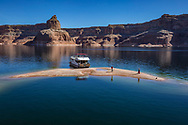 Houseboating on Lake Powell, Daryl Willmarth photographs Nina Rehfeld, March 2018