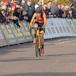 04-11-2018: Wielrennen: EK veldrijden: Rosmalen <br />Fleu Nagengast (Beilen) pakt brons op het EK voor vrouwen onder de 23 jaar