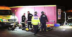 Portsmouth,Hampshire Monday 3rd October 2016   A man has been charged with arson after a fire that saw three firefighters and two residents treated in hospital. Peter Arrandale, 59, has been charged after the blaze at the Handsworth House tower block in Quinton Close, Portsmouth at about 4am on Thursday. It happened on the 13th floor of the 17-floor block. Arrandale, of Quinton Close, appeared before Portsmouth magistrates on Saturday after being charged with arson with intent to endanger life or recklessness as to whether it would be endangered. He will next appear on October 28.©UKNIP