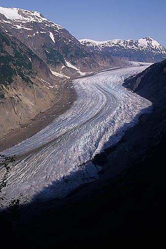 Alaska, Salmon Glacier. Southeast Alaska.