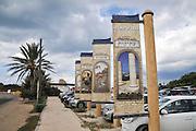 Israel, Caesarea parking lot