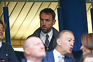 Gareth Southgate, the acting England manager looking on from the stands. Premier league match, Chelsea v Manchester Utd at Stamford Bridge in London on Sunday 23rd October 2016.<br /> pic by John Patrick Fletcher, Andrew Orchard sports photography.